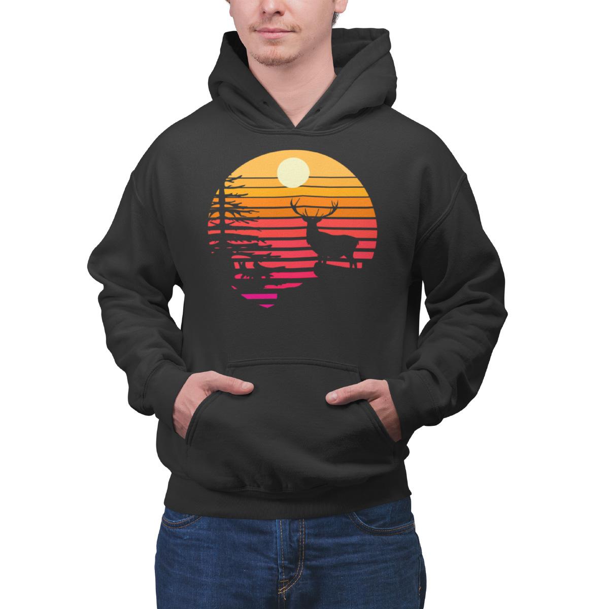 schwarzwald sonnenuntergang sommer hoodie