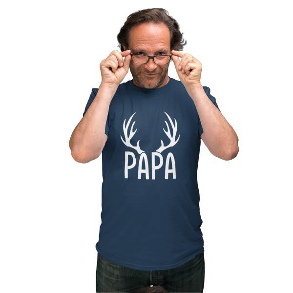 papa hirschgeweih geschenk