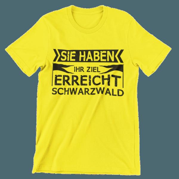 t-shirt-gelb-rundhalsausschnitt-mit-neutralem-hintergrund-motiv-sie-haben-ihr-ziel-erreicht-schwarzwald