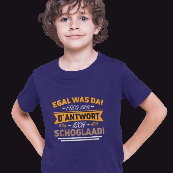 junge mit blauem tshirt mit alemannisch badisch fuer naschkatzen motiv