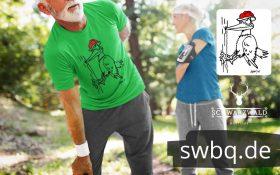 Schwarzwald bollenhut specht-T-Shirt-Specht-mit-bollenhut-hackt-an-einem-baum