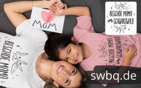 schwarzwald frauen t-shirt - beschde mama im schwarzwald