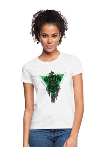 schwarzwald frauen t-shirt - kuckucksuhr