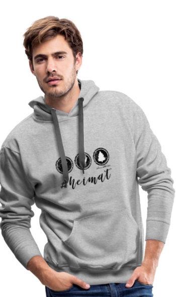 schwarzwald maenner hoodie - hashtag heimat
