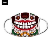 Mundschutz-maske-fest-der-toten-design