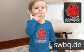 schwarzwald baby body - bollus mit bollenhut