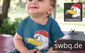 schwarzwald maenner t-shirt - adler mit bollenhut