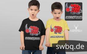 schwarzwald kinder t-shirt - nashorn mit bollenhut