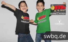 schwarzwald kinder t-shirt - taussenfuesser mit bollenhut