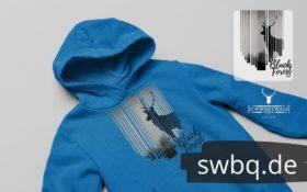 schwarzwald männer hoodie - hirschsprung