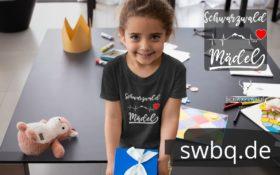 schwarzwald kinderkleidung & baby t-shirt - schwarzwald mädel