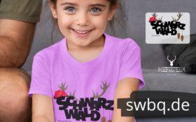 schwarzwald maenner kinder & baby t-shirt - schwarzwald trio