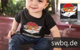 schwarzwald kinder t-shirt - fuchs mit bollenhut