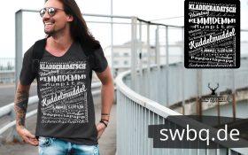 schwarzwald maenner t-shirt - mit den lustigsten worten aus dem schwarzwald
