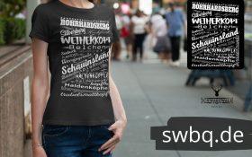 schwarzwald frauen t-shirt - berge im schwarzwald