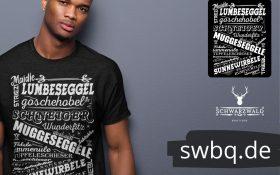 schwarzwald maenner t-shirt - mit schwarzwaelder alemannischem dialekt und lustigen worten