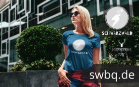 schwarzwald frauen t-shirt - schwarzwald hirschkopf