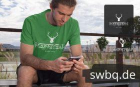 schwarzwald männer t-shirt - schwarzwaldboutique logo