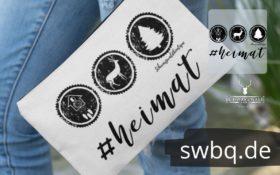 schwarzwald schmink tasche - hashtag heimat