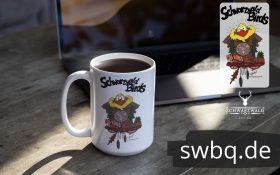 schwarzwald tasse - schwarzwald bird aus der kuckucksuhr