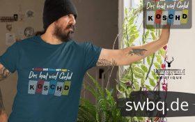 mann mit blauem tshirt mit alemannisch fuer anfaenger teil 0815 design